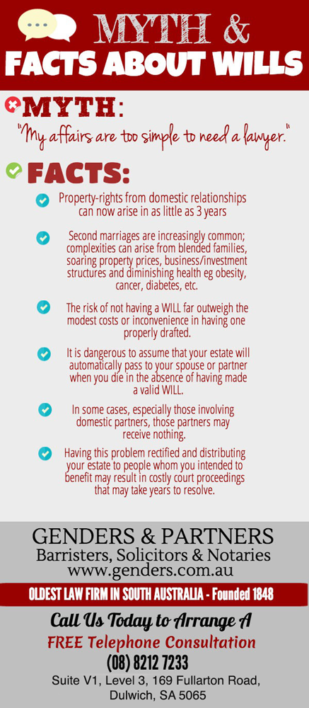 Myth and Facts About Wills