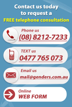 Genders and Partners | FREE Telephone Consultation - Lawyer Adelaide