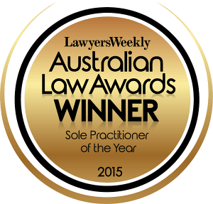 Genders and Partners | Winner, Sole Practitioner of the Year - Lawyer Adelaide