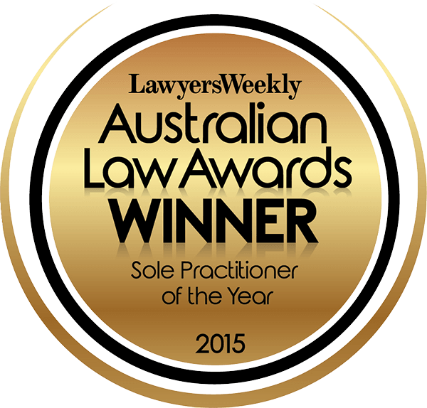 Genders and Partners | Sole Practitioner of the Year - Lawyer Adelaide
