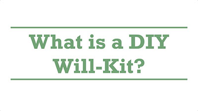 What is a DIY Will-Kit? | Genders - Adelaide