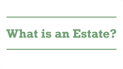 What is an Estate? | Genders - Adelaide