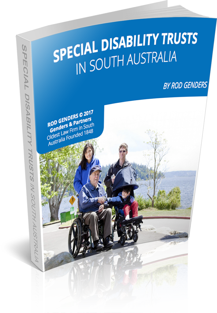 Special Disability Trusts in South Australia Book Cover