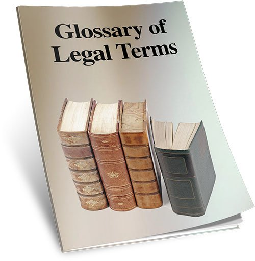 Glossary of Legal Terms Bonus