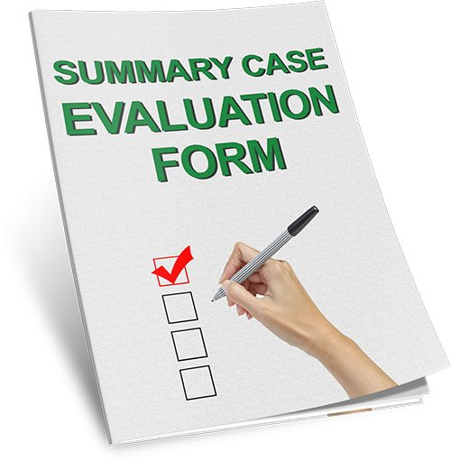 Summary Case Evaluation Form Bonus