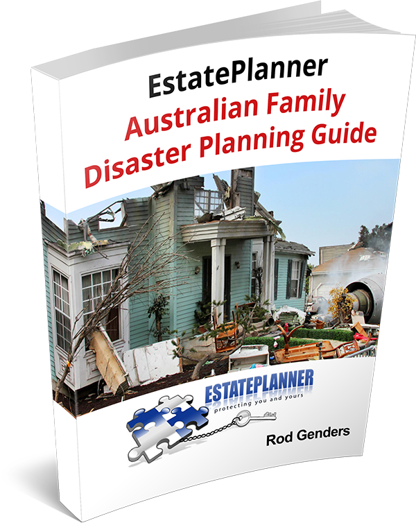 EstatePlanner Australian Family Disaster Planning Guide Book Cover
