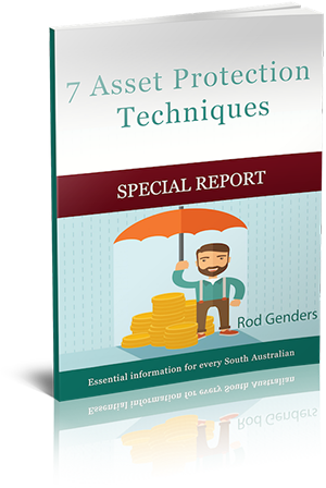 Special Report: 7 Asset Protection Techniques Cover