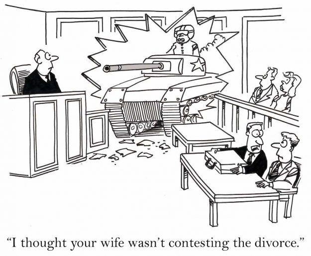 laugh at a lawyer and the world laughs with you