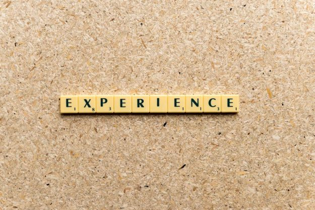 the benefits of experience