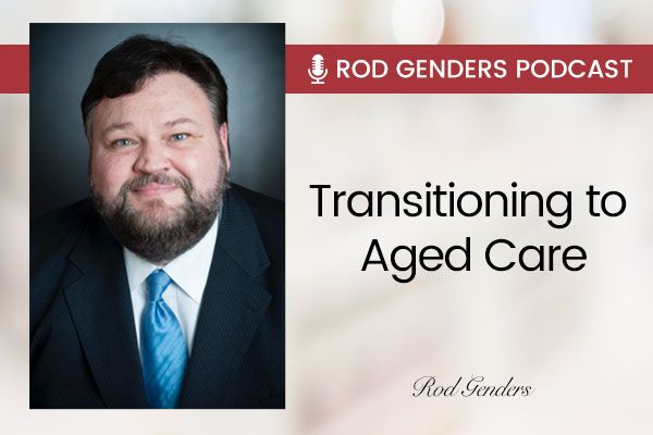 Transitioning to Aged Care Banner