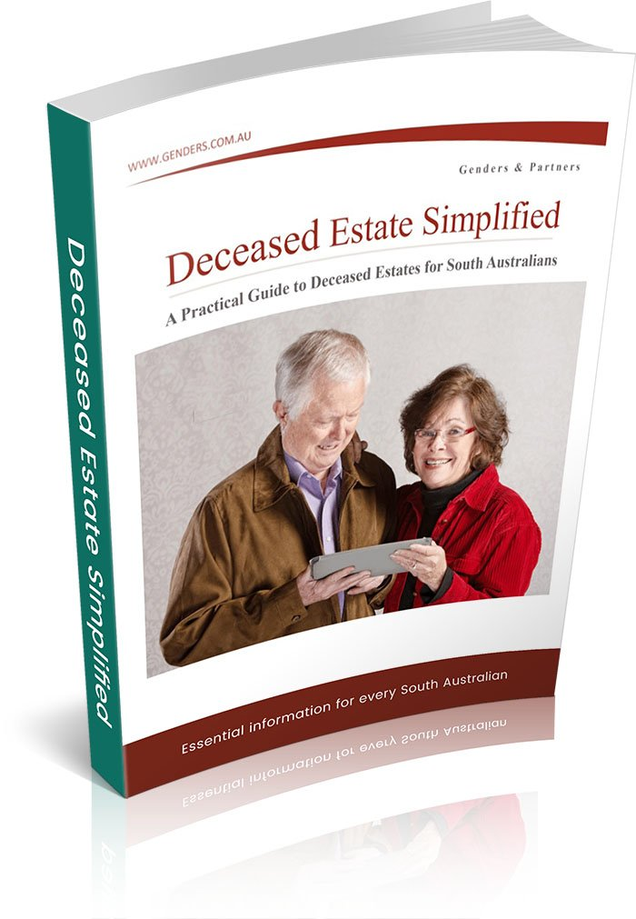 Deceased Estates Simplified Cover