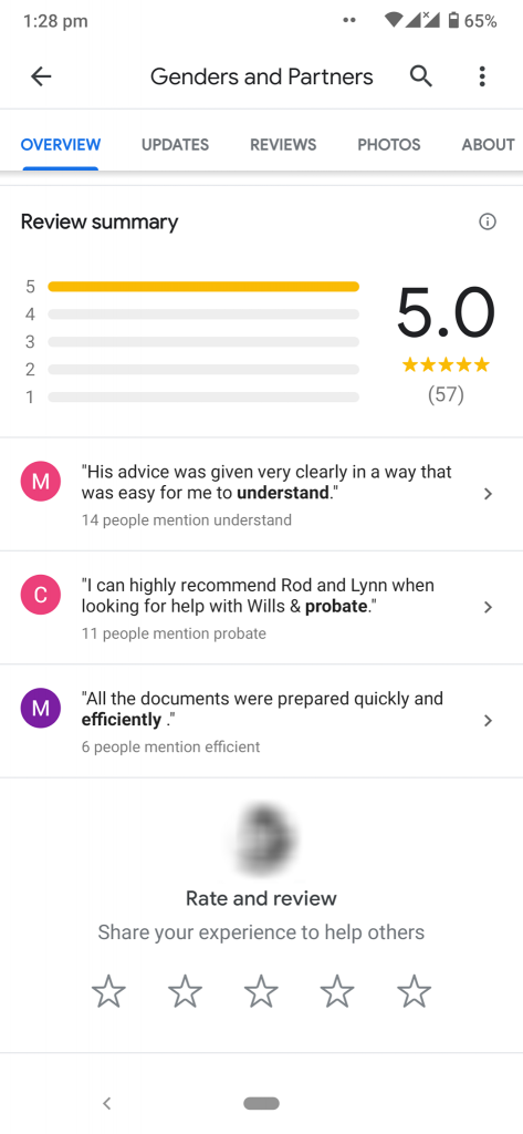 google maps review screenshot 3