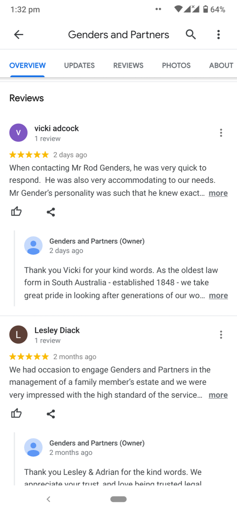 google maps review screenshot 5