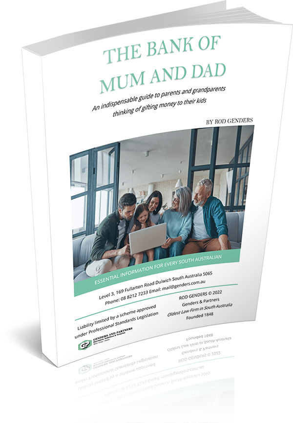 the bank of mum and dad cover